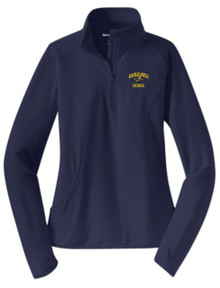 Ladies Sport-Wick Stretch Half-Zip Pullover, Spirit Wear (1035)