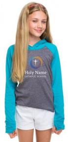 Girls Hooded T-Shirt (1011)