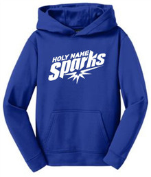 Sport-Wick Hooded Pullover, Royal (1011)