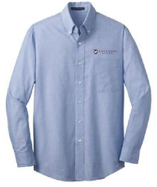 Easy Care Long Sleeve Shirt with Logo, Staff Wear (1007)