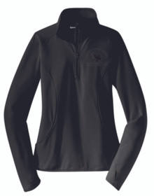 Sport Wick 1/4 Zip Pullover (Ladies) with Logo, Spirit Wear (1007)