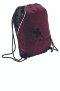 Cinch Bag with Logo, Spirit Wear (1007)
