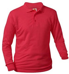 Polo Long Sleeve Jersey Knit with Logo (1035)