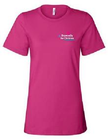 Ladies Short Sleeve Jersey T-Shirt  (1036)