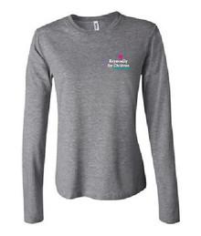 Ladies Long Sleeve Jersey T-Shirt (1036)
