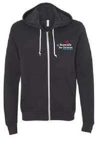 Unisex Full Zip Hooded Sweatshirt (1036)
