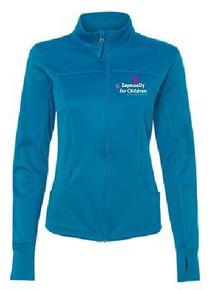 Ladies Full Zip Poly Tech Track Jacket (1036)