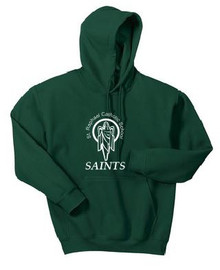 Hooded Sweatshirt with Logo, Spirit Wear (1042)