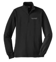 Ladies 1/4 Zip Sweatshirt, Staff Wear (1005)