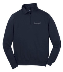 1/4 Zip Fleece Pullover with Logo (1005)
