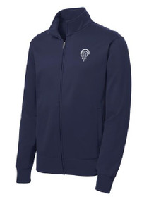 Full-Zip Wicking Jacket with Logo (1042)