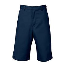 Boys Flat Front Shorts, Husky (1044)