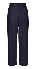 Boys Flat Front Pants, Regular and Slim Fit (1045)