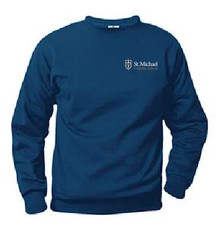 Crew Neck Sweatshirt with Logo (1045)