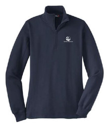 Ladies 1/4 Zip Sweatshirt, (2001)