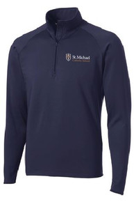 Sport-Wick 1/4 Zip Pullover with Logo, (1045)