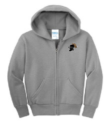 Full Zip Hoodie with Logo, Spirit Wear (1023)