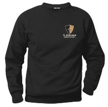 Crew Neck Sweatshirt with Logo (1023)