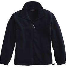 Full-Zip Fleece Jacket with Logo (1002)