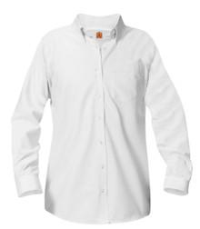 Female Long Sleeve Oxford Shirt (1006)