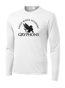 Performance T-Shirt Long Sleeve with Logo, Spirit Wear (1007)