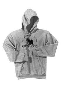 Pullover Hoodie with Logo, Spirit Wear (1007)