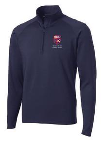 Half Zip Sport-Wick Pullover with Logo (1040)