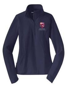 Half Zip Sport-Wick Pullover Ladies  with Logo (1040)