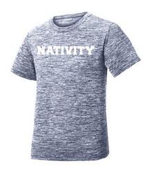Performance Heather T-Shirt with Logo, Spirit Wear (1013)