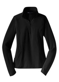Ladies Half Zip Sport-Wick Pullover (2004)