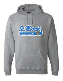 Tackle Twill Hooded Sweatshirt (Adult) w/ Logo, Spirit Wear (1045)
