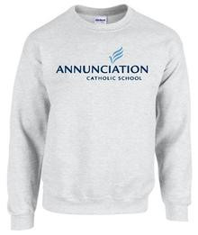 Crew Sweatshirt Spiritwear with School Logo (1002)