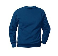 Crewneck Sweatshirt with Logo (1002)