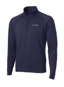 Half Zip Sport-Wick Pullover with Logo, (1002)