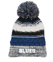 Pom Pom Team Beanie with Logo, Spirit Wear (1045)