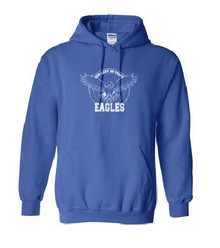 Hooded Sweatshirt with Logo, Spirit Wear (1017)
