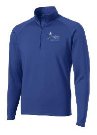 Ladies Half Zip Sport-Wick Pullover with Logo, Spiritwear(1017)