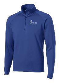 Half Zip Sport-Wick Pullover with Logo, Spiritwear(1017)