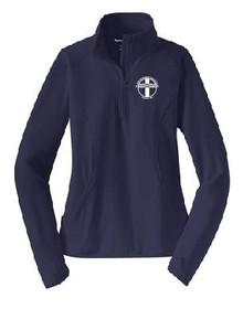 Ladies Half Zip Sport-Wick Pullover with Logo, Spiritwear(1041)