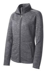 Ladies Digital Stripe Fleece Jacket (2006)