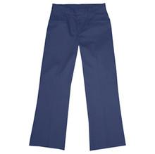 Girls Flat Front Pants, Half (Plus) Size (1017)