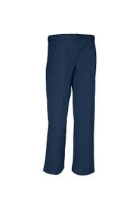 Boys Flat Front Pants, Husky (1017)