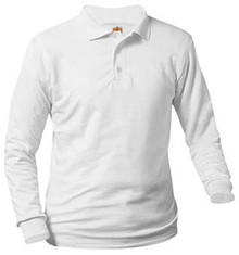 Polo Long Sleeve Jersey Knit with Logo (1048)