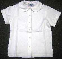 Short Sleeve Knit Peter Pan (1048)