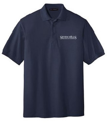 Silk Touch Polo (Adult) with Logo, Staff Wear (1022)
