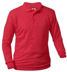 Polo Long Sleeve Jersey Knit with Logo (1003) K - 5