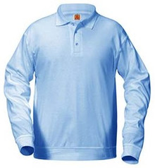 Polo Long Sleeve Banded Bottom