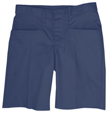 Girls Flat Front Shorts (1003) K - 5