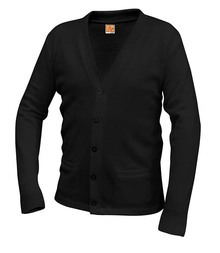 V-Neck Cardigan Sweater with Logo (1003) 6 - 8