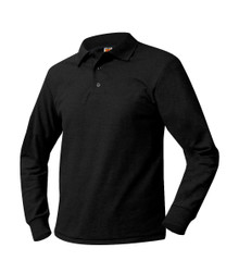 Polo Long Sleeve Jersey Knit with Logo (1003) 6 - 8
